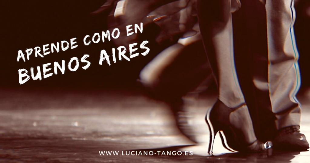 aprender a bailar tango en Valencia